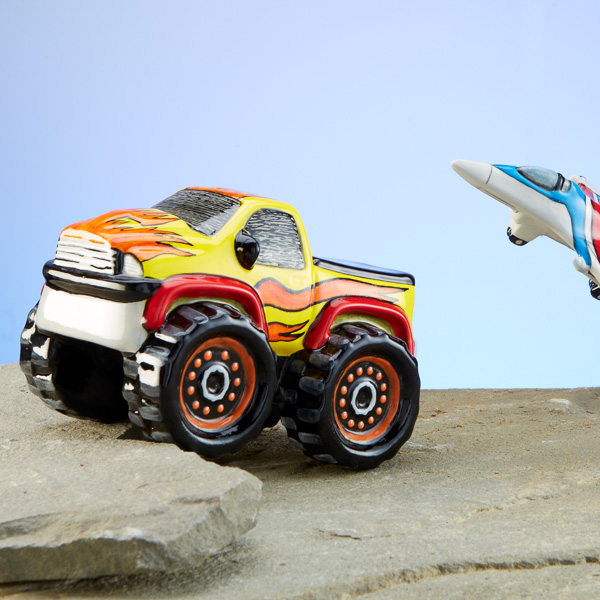 Monster Truck and Jet