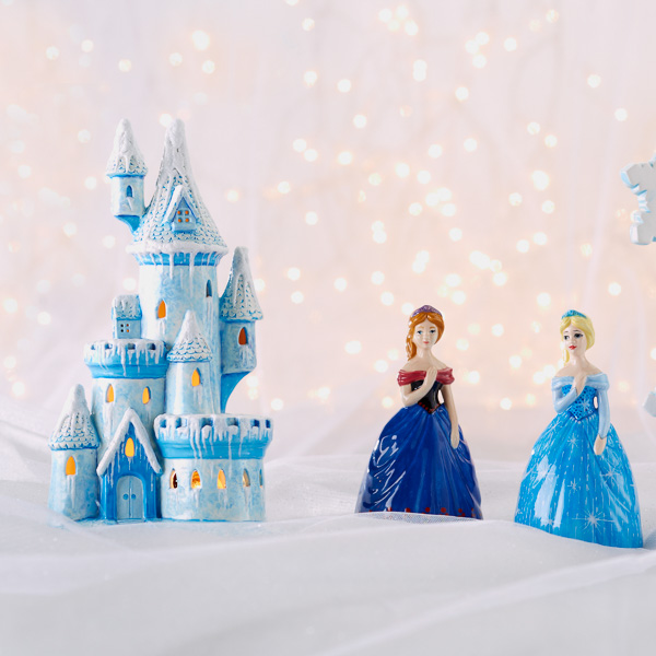 Princesses and Light-Up Castle