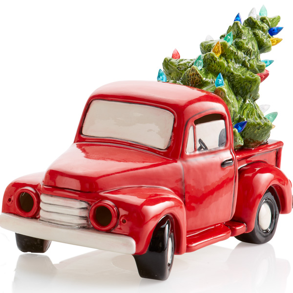5312 Vintage Truck w/ Tree H with Fun Strokes
