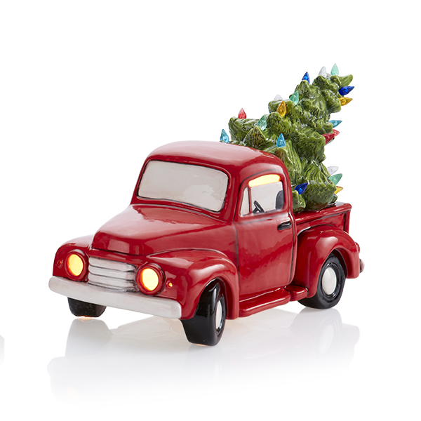 Vintage Truck with Tree - Fun Strokes